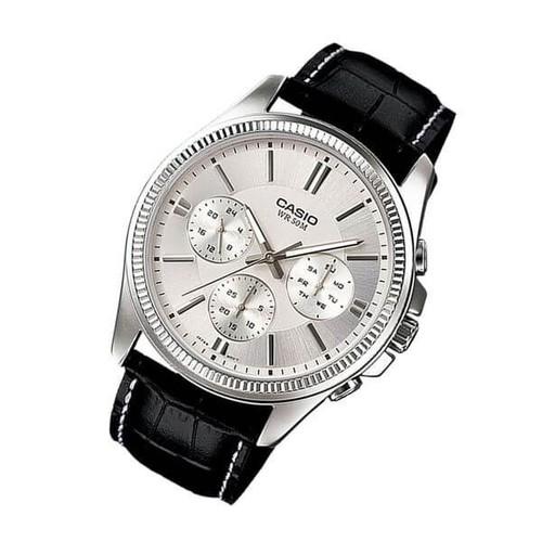 Đồng hồ nam dây da Casio Anh Khuê MTP-1375L-7AVDF